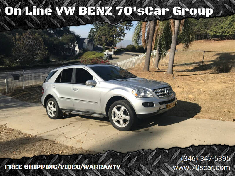 2007 Mercedes-Benz M-Class for sale at OnLine VW-BENZ.COM Auto Group in Riverside CA