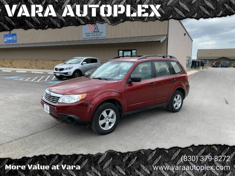 2010 Subaru Forester for sale at VARA AUTOPLEX in Seguin TX