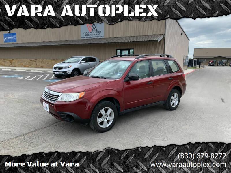 2010 Subaru Forester for sale at VARA AUTOPLEX in Seguin TX
