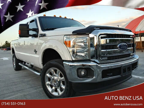 2016 Ford F-350 Super Duty for sale at AUTO BENZ USA in Fort Lauderdale FL