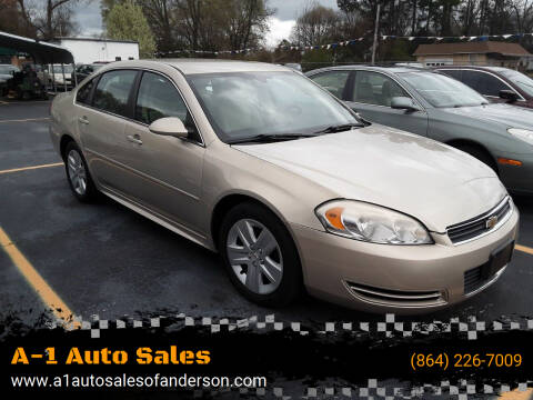2011 Chevrolet Impala for sale at A-1 Auto Sales in Anderson SC