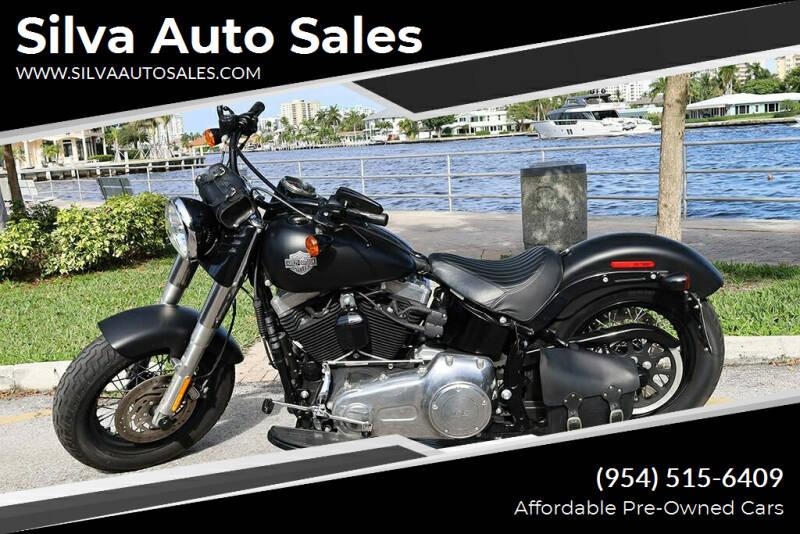 2012 Harley-Davidson Softail Slim for sale at Silva Auto Sales in Pompano Beach FL