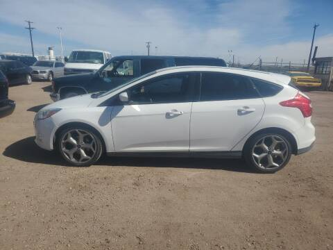 2012 Ford Focus for sale at PYRAMID MOTORS - Fountain Lot in Fountain CO