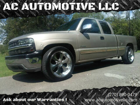 2002 Chevrolet Silverado 1500 for sale at AC AUTOMOTIVE LLC in Hopkinsville KY