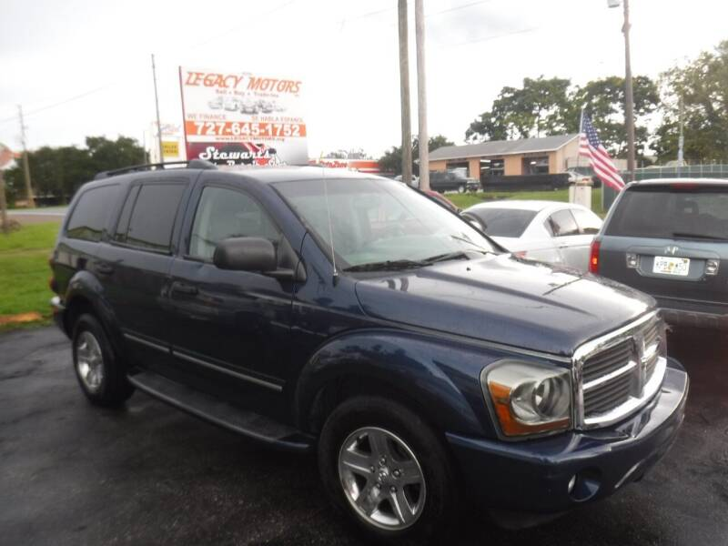 2004 Dodge Durango for sale at LEGACY MOTORS INC in New Port Richey FL