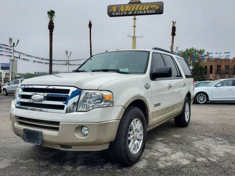 2008 Ford Expedition for sale at A MOTORS SALES AND FINANCE in San Antonio TX