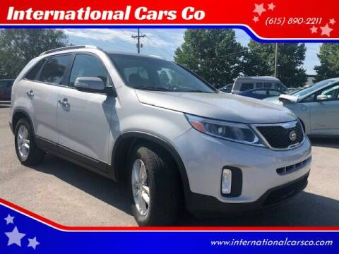 2014 Kia Sorento for sale at International Cars Co in Murfreesboro TN