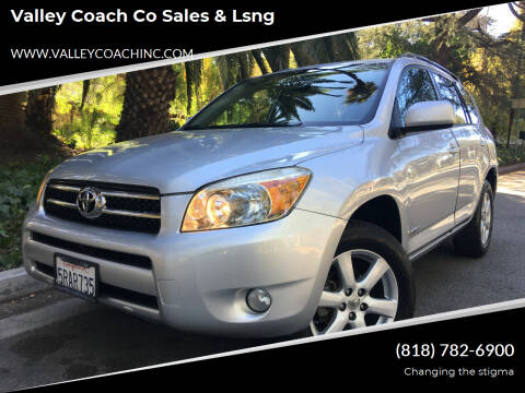 2006 Toyota RAV4 for sale at Valley Coach Co Sales & Lsng in Van Nuys CA