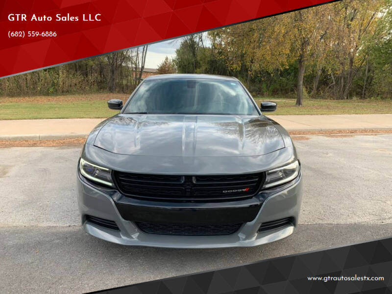 2018 Dodge Charger for sale at GTR Auto Sales LLC in Haltom City TX