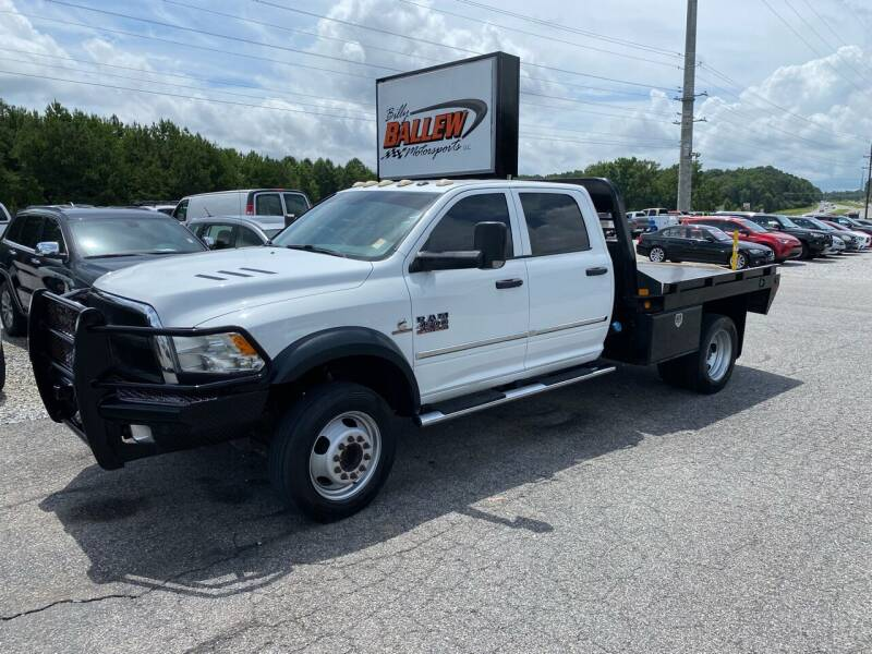 2016 RAM Ram Chassis 4500 for sale at Billy Ballew Motorsports in Dawsonville GA