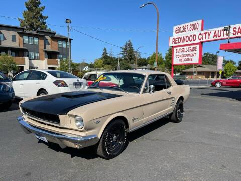 1966 Ford Mustang for sale at Redwood City Auto Sales in Redwood City CA