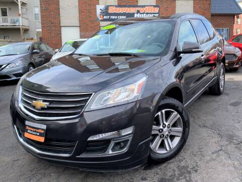 2017 Chevrolet Traverse for sale at Somerville Motors in Somerville MA