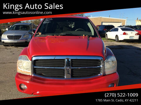 2004 Dodge Durango for sale at Kings Auto Sales in Cadiz KY