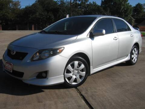 2009 Toyota Corolla for sale at JAYCEE IMPORTS in Houston TX