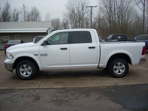 2016 RAM Ram Pickup 1500 for sale at H&L MOTORS, LLC in Warsaw IN