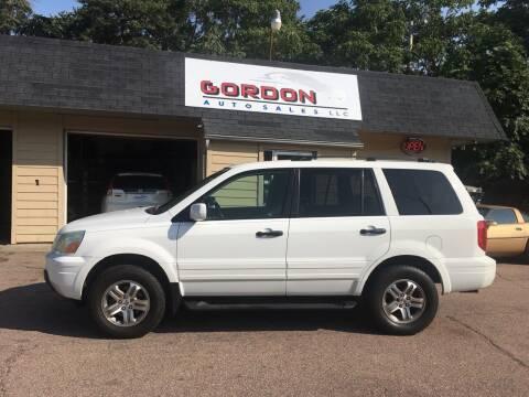 2003 Honda Pilot for sale at Gordon Auto Sales LLC in Sioux City IA
