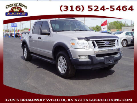 2007 Ford Explorer Sport Trac for sale at Credit King Auto Sales in Wichita KS