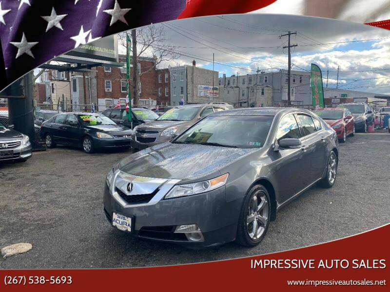 2009 Acura TL for sale at Impressive Auto Sales in Philadelphia PA