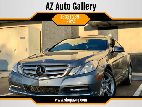 2012 Mercedes-Benz E-Class for sale at AZ Auto Gallery in Mesa AZ