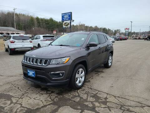 2019 Jeep Compass for sale at Ripley & Fletcher Pre-Owned Sales & Service in Farmington ME