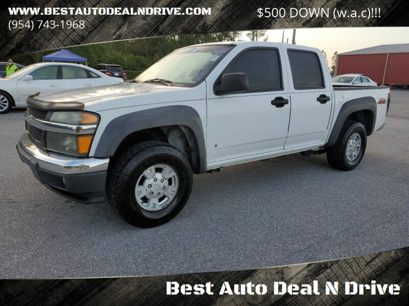 2006 Chevrolet Colorado for sale at Best Auto Deal N Drive in Hollywood FL