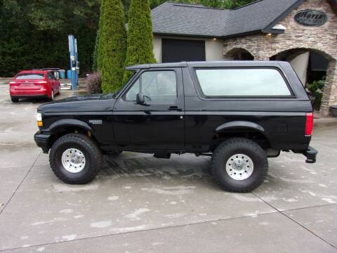 1996 Ford Bronco Sport for sale at Hoyle Auto Sales in Taylorsville NC