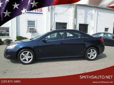 2009 Pontiac G6 for sale at SmithsAuto.net in Hart MI