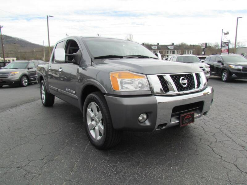 2013 Nissan Titan for sale at Hibriten Auto Mart in Lenoir NC