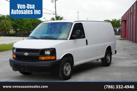 2017 Chevrolet Express Cargo for sale at Ven-Usa Autosales Inc in Miami FL