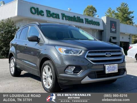 2018 Ford Escape for sale at Ole Ben Franklin Motors-Mitsubishi of Alcoa in Alcoa TN