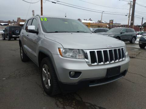 2012 Jeep Grand Cherokee for sale at Merrimack Motors in Lawrence MA