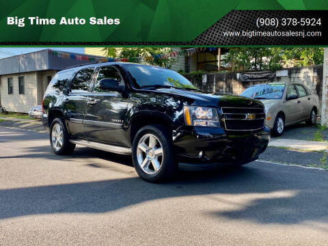 2007 Chevrolet Tahoe for sale at Big Time Auto Sales in Vauxhall NJ