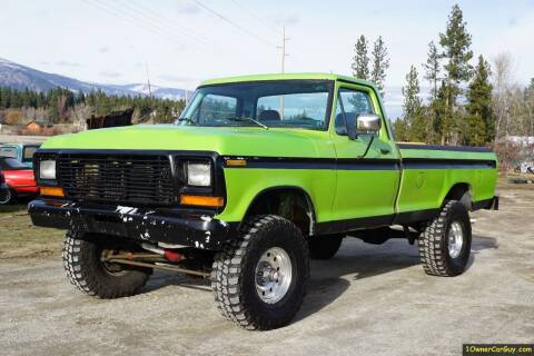1979 Ford F-150 for sale at 1 Owner Car Guy in Stevensville MT