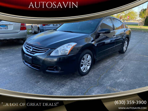 2012 Nissan Altima for sale at AUTOSAVIN in Elmhurst IL