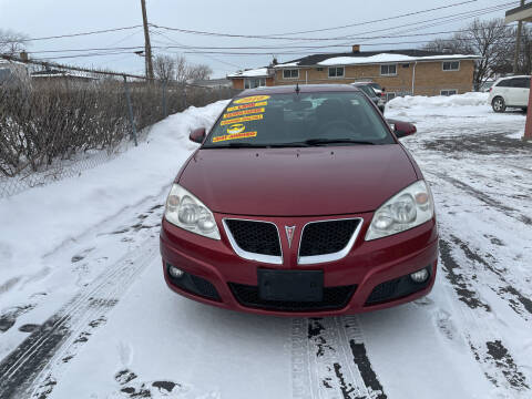 2010 Pontiac G6 for sale at RON'S AUTO SALES INC in Cicero IL
