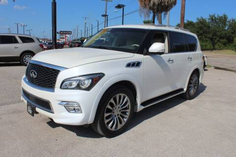 2015 Infiniti QX80 for sale at Flash Auto Sales in Garland TX