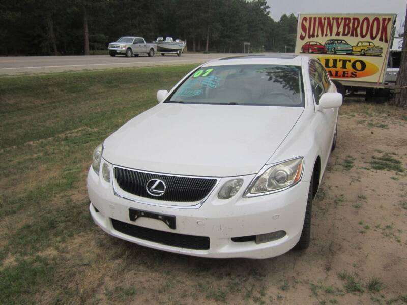 2007 Lexus GS 350 for sale at SUNNYBROOK USED CARS in Menahga MN