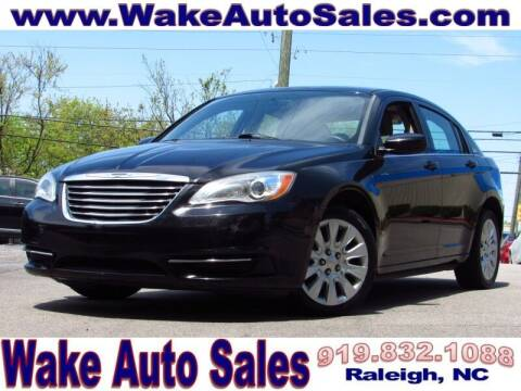 2014 Chrysler 200 for sale at Wake Auto Sales Inc in Raleigh NC