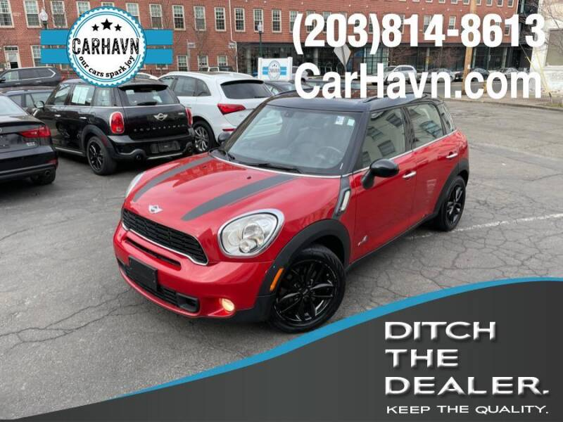 2013 MINI Countryman for sale at CarHavn in New Haven CT