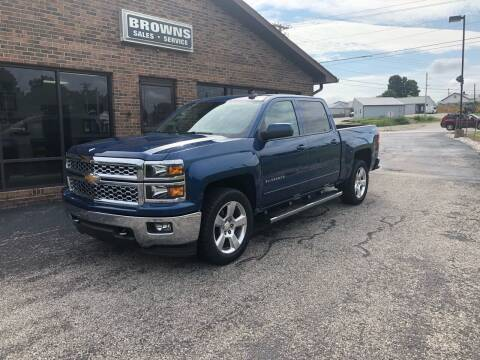 2015 Chevrolet Silverado 1500 for sale at Browns Sales & Service in Hawesville KY