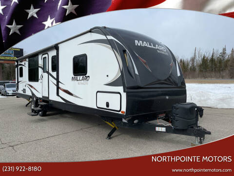 2017 HEARTLAND MALLARD  M 302 UltraLite M 302 for sale at Northpointe Motors in Kalkaska MI