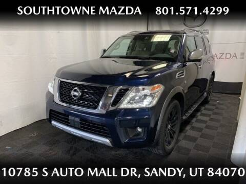 2018 Nissan Armada for sale at Southtowne Mazda of Sandy in Sandy UT