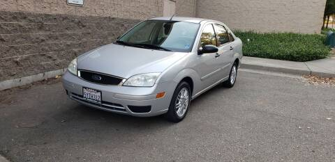 2007 Ford Focus for sale at SafeMaxx Auto Sales in Placerville CA
