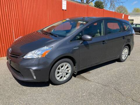 2012 Toyota Prius v for sale at Bill's Auto Sales in Peabody MA