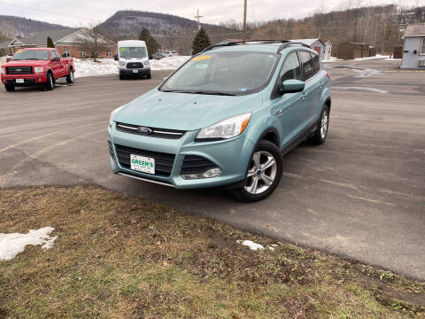 2013 Ford Escape for sale at Greens Auto Mart Inc. in Wysox PA