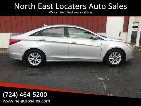 2013 Hyundai Sonata for sale at North East Locaters Auto Sales in Indiana PA