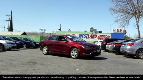 2015 Chrysler 200 for sale at Westland Auto Sales in Fresno CA