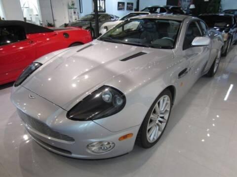 2003 Aston Martin Vanquish for sale at Classic Car Deals in Cadillac MI