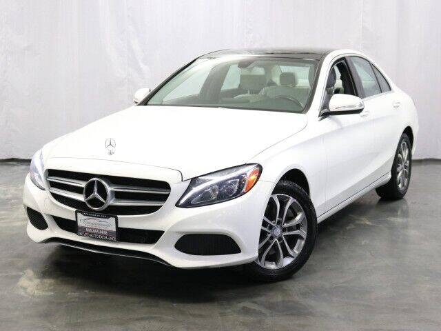 2015 Mercedes-Benz C-Class for sale at United Auto Exchange in Addison IL