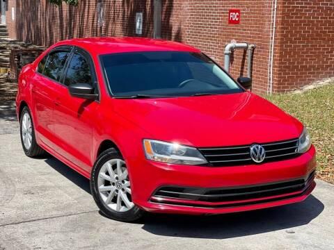 2015 Volkswagen Jetta for sale at Unique Motors of Tampa in Tampa FL